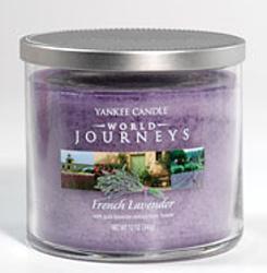 Vonné svíčky French Lavender