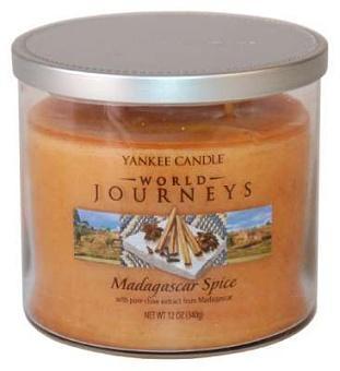 Vonné svíčky Madagascar spice