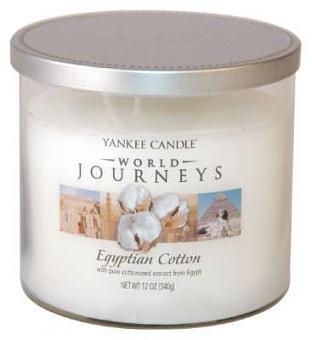 Vonné svíčky Egyptian cotton