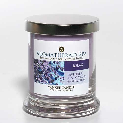 Vonné svíčky Aromatherapy Spa Relax