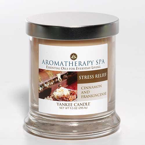 Vonné svíčky Aromatherapy Spa Stress Relief