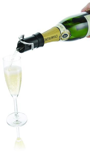 Víno a bar IIC Nálevka a uzávěr na šampaňské