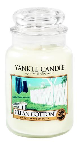 Vonné svíčky Clean cotton