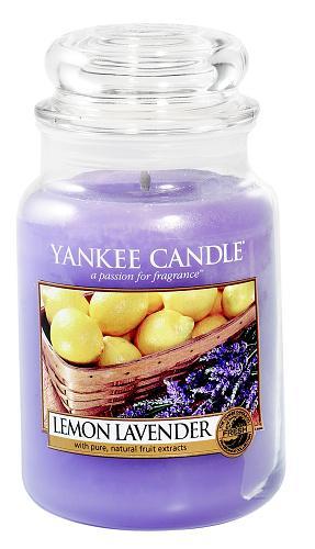 Vonné svíčky Lemon Lavender